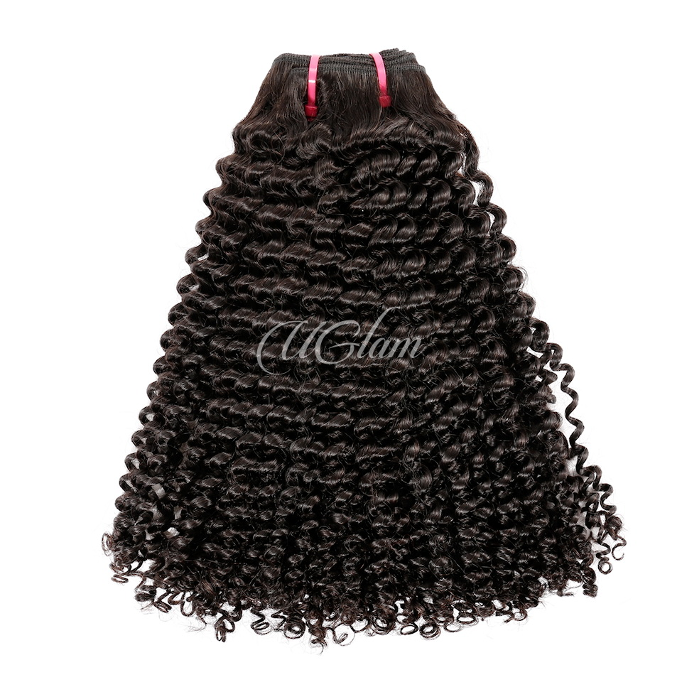 Uglam Virgin Hair Kinky Curly 3pcs/4pcs Bundles Deal Sexy Formula