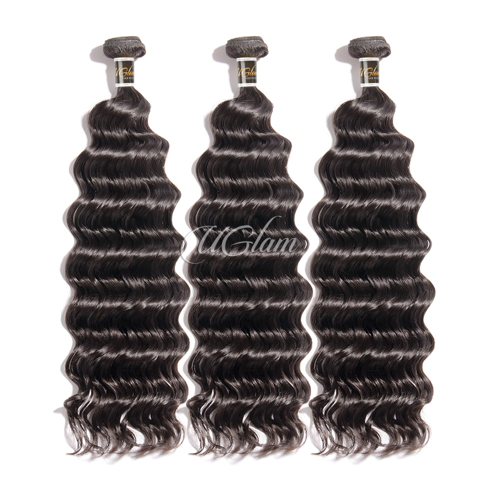 Uglam Hair 3/4pcs Bundles Brazilian Nature Wave Sexy Formula
