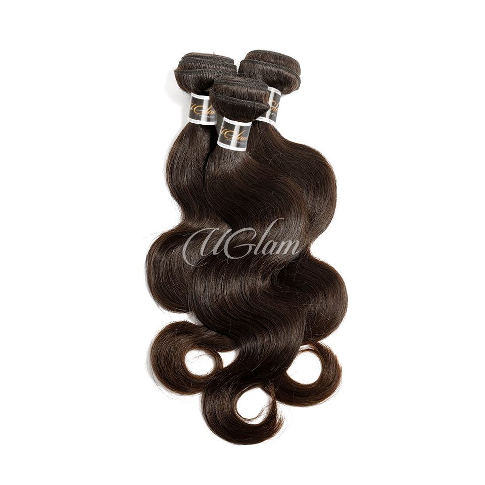 Uglam Hair 3/4pcs Bundles Body Wave Natural Color Raw Hair Sexy Formula