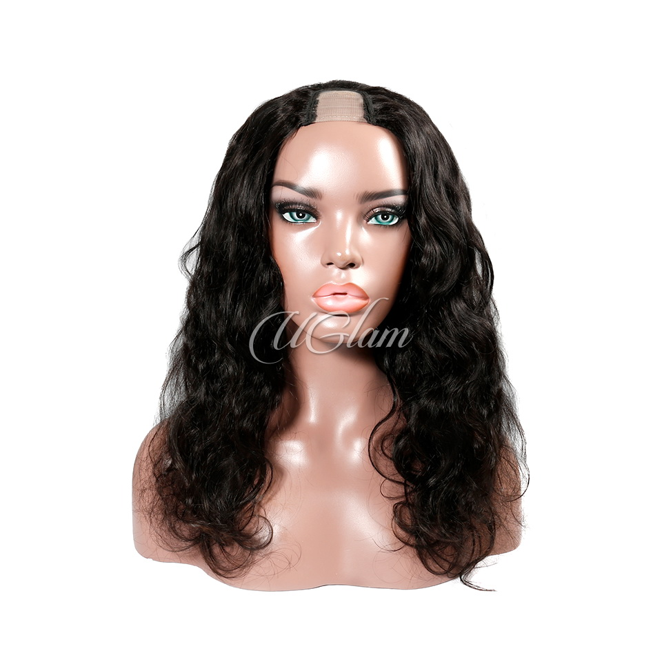 Uglam Body Wave U Part Wigs