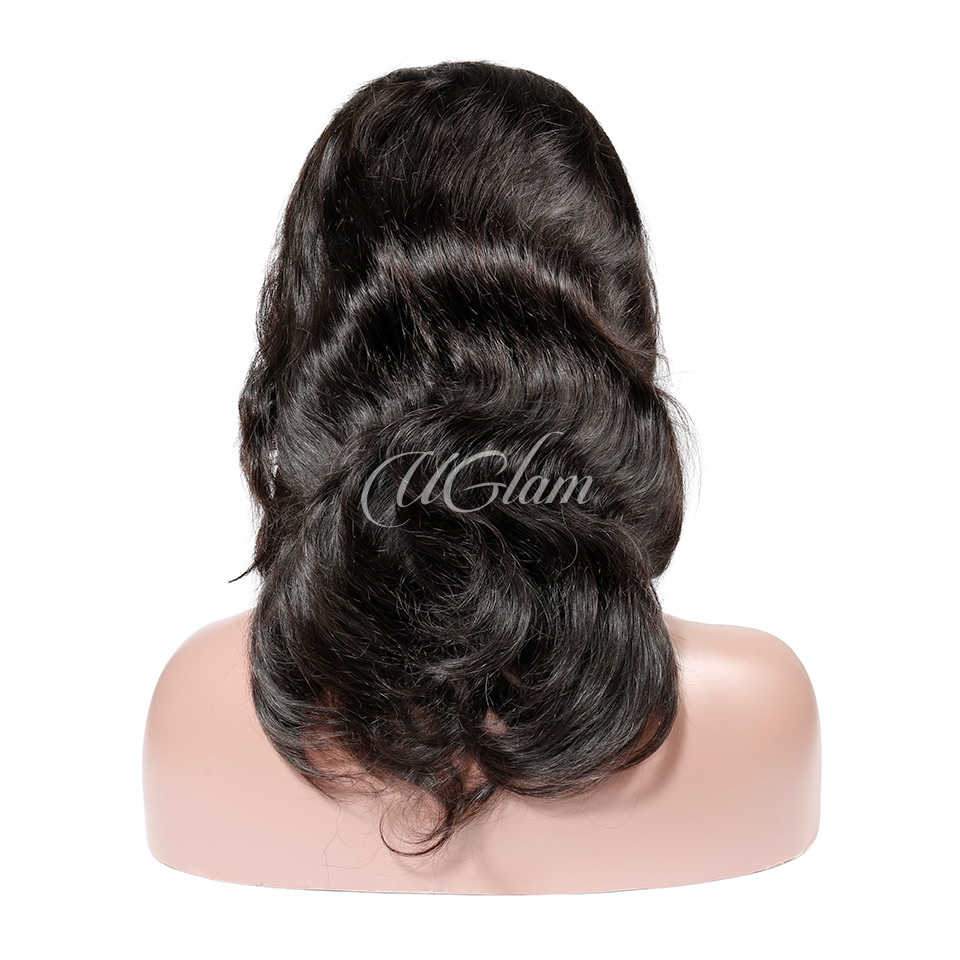 Uglam Hair Big Promotion 360 Lace Frontal Wigs Body Wave 180% & 250% Density
