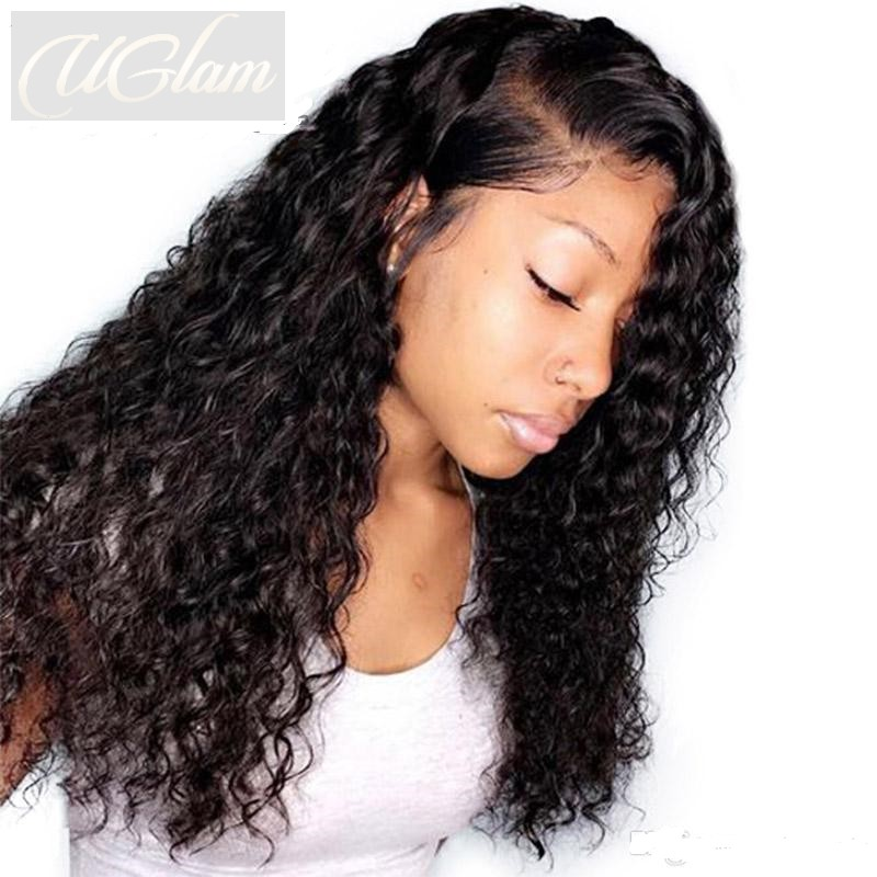 Uglam Hair 360 Lace Front Wigs Roman Curl 180% Density