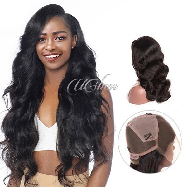 Uglam Full Lace Wigs Body Wave 180% Density